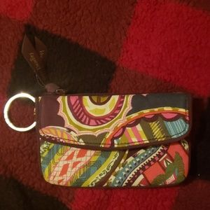 Vera Bradley Iconic Jen Zip ID Card Case